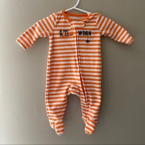Baby Halloween Footed Onesie 🎃 1st Halloween!